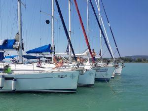 SailBalaton vitorlás flotta